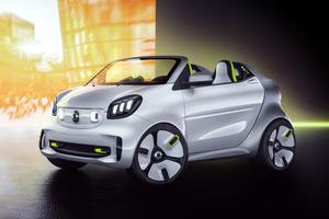 La Lilliputienne électrise la citéPour ses 20 ans, Smart a créé la Forease. Inspirée du roadster Crossblade de 2001, cette étude électrique réaffirme les valeurs de la marque.