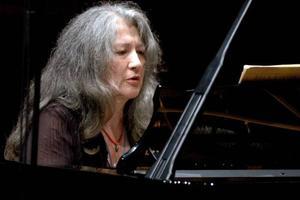 La pianiste argentine Martha Argerich, lors d'un concert en2007.
