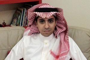 Raïf Badawi, emprisonné depuis 2013 en Arabie Saoudite.