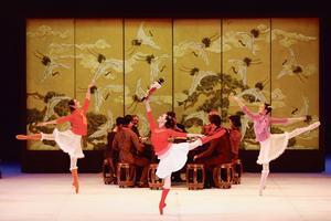 «Casse-noisette» du Ballet national de Chine.