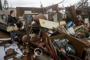 Panama City a été l'un des premiers endroits touchés par l'ouragan Michael.