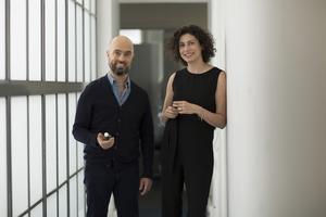 Nisrine Grillé et Olivier Pescheux, le duo de nez derrière les parfums H&M.