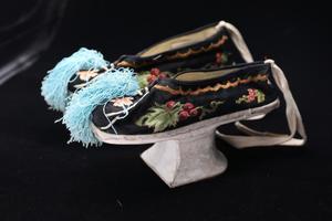 Chaussures à la cour (dynastie Qing), province du Shanxi.