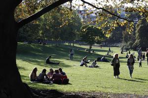 Le parc Monceau (VIIIe).