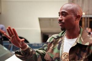 Tupac Shakur à la New York City Radio, 1996.
