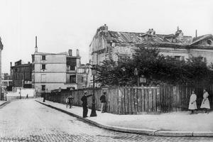 La Folie-Neubourg, boulevard de Blanqui, vers 1910.