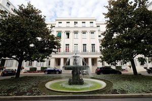 Le square d'Orléans.