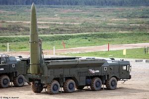 Missile russe Iskander.