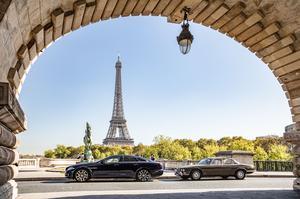 Paris possède une valeur symbolique pour Jaguar: c'est dans la capitale française que fût dévoilée la première XJ en 1968.