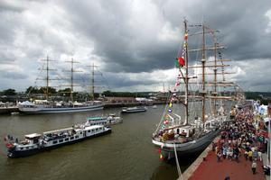In Normandy, the Grande Armada of Rouen.