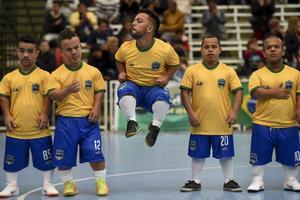 L'équipe du Brésil.