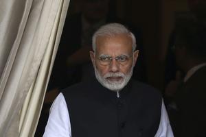 Narendra Modi en Inde