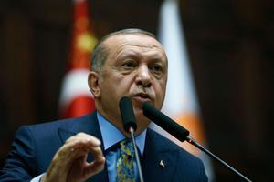 Recep Erdogan en Turquie
