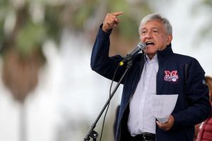 Andrés Manuel López Obrador au Mexique