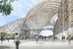 Un grand projet architectural verra bientôt le jourà Bienne, où seront réunis les sièges et musées des marques Swatch et Omega.