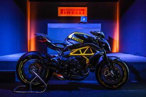 L'inauguration du P Zero World de Monte-Carlo a également permis de présenter la toute nouvelle création de <a href=