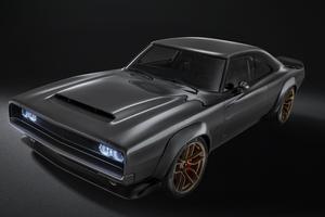 Fondé sur une iconique Dodge Charger de 1968, le concept «Super Charger» embarque une motorisation inédite.