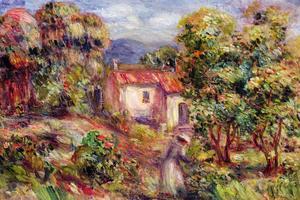 «Ferme des Collettes» - Auguste-Pierre Renoir 1915.