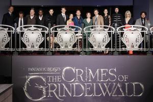 Le casting du film «Les Crimes de Grindelwald» à Paris le 8 novembre.