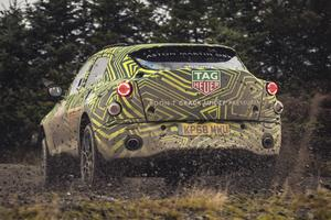 L'Aston Martin DBX devrait arriver en concession fin 2019.