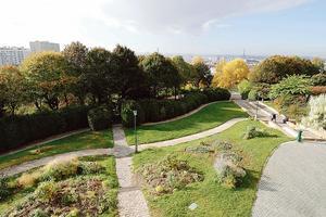 Le parc de Belleville (XXe).