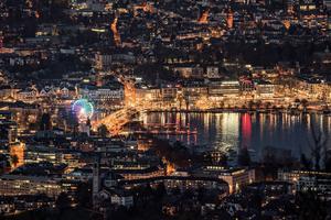 Zürich, l'une des trois villes suisses accessibles en Business 1ère.