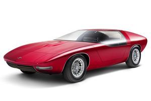 Le prototype CD de 1969, fondé sur la luxueuse Opel Diplomat.