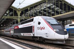 Le TGV-Lyira à Paris-Gare de Lyon