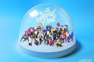 La pochette de l'album «Le Grand Noël» de Deezer.