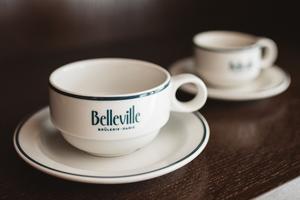 Les tasses de la Belleville Brûlerie (XIXe).