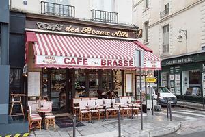 Le café des Beaux-Arts.