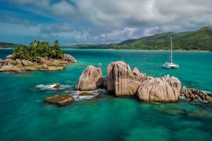 «Croisières à la cabine»,aux Seychelles de Dream Yacht Charter.