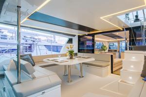 La cabine d'un bateau de Sunsail &The Moorings.