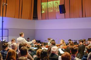 Le morceau a été enregistré en octobre par un orchestre de l'université. - Crédits photo: Scott Soderberg/Michigan Photography