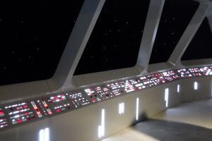 Le pont de commandement de l'Étoile de la Mort est une pièce unique au monde.