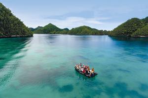 Une excursion dans l'archipel des Raja Ampat en Indonésie.