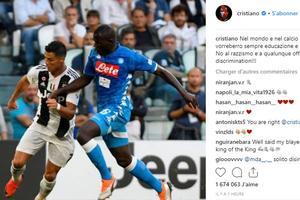 La publication Instagram de Cristiano Ronaldo.