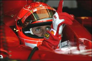Michael Schumacher en 2004.