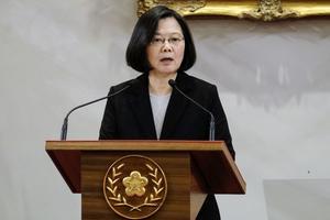 Tsai Ing-wen, présidente de Taïwan.