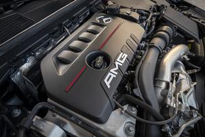 Un moteur de 306 ch souple et puissant confère à cette Classe A un grand agrément.