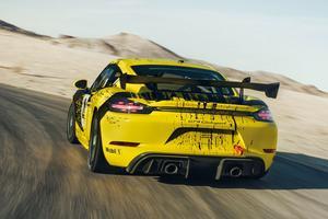 Deux versions de cette Cayman de course sont disponibles: «Trackday» et «Competition».