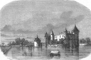 Château de La Brède, près de Bordeaux, où est né Charles-Louis de Secondat, baron de Montesquieu, en janvier 1689.