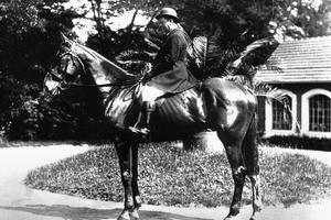 Ettore Bugatti était un cavalier émérite.