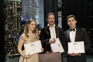 Mélissa Petit, Jérôme Boutillier et Ilya Kutyukhin sacrés aux Mozart de l'Opéra 2019.
