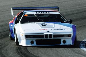 Une BMW M1 de course des années 1980 sera également présente, avec ses 470 chevaux sous le capot.
