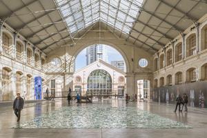 Dans sa totalité, le Centquatre fait 39 000 m².