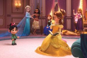 Vanellope et les princesses