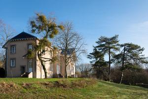 «La Mérigote», située dans un parc de 2,4hectares était la résidence de l'écrivain Jean-Richard Bloch.