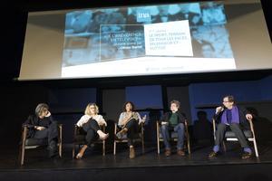 Les invités lors du débat / Crédit: Didier Allard