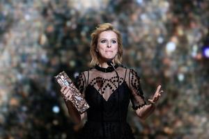 Karin Viard est sacrée Meilleure actrice dans un second rôle pour «Les Chatouilles».